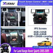 6g + 128g tela de toque para land range rover esportes 2005-2009 rádio do carro estéreo gps navegação multimídia 12.1 polegada android 10.0