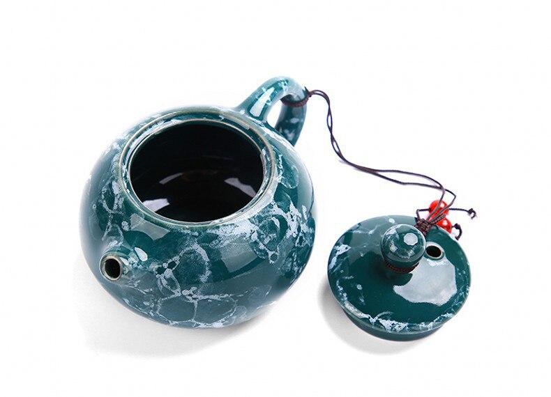 Κεραμικό φορητό κινέζικο σετ τσαγιού kung fu msow