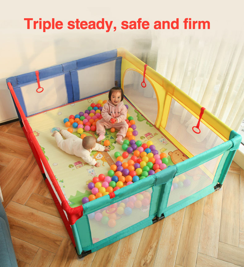 2019 New 0-3 Years Old Children's Play Game Fence Indoor Baby Toddler 70cm Safety Fence Baby Crawling Playground Baby Playpen