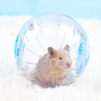 Plastikowa piłka sportowa na zewnątrz Grounder szczur małe zwierzę gryzonie myszy Jogging zabawkowa piłka chomik szczur myszoskoczek ćwiczenia piłki zabawki tanie i dobre opinie CN (pochodzenie) 308677 Plastic 10cm-3 94inch 12cm-4 72inch Blue Pink