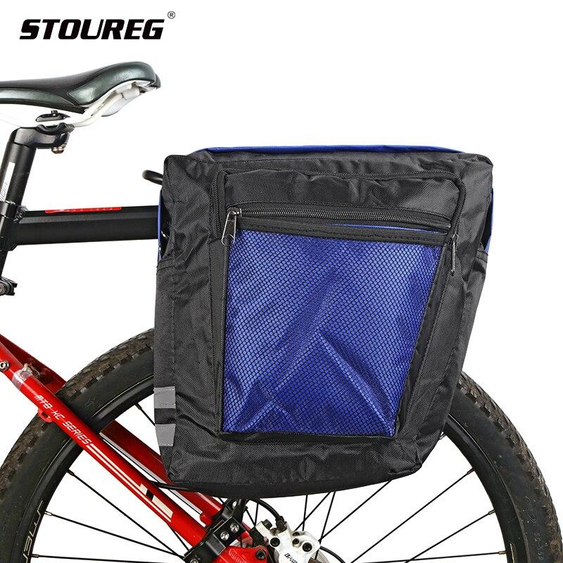 Сумка переноска для велосипеда MTB, задняя стойка, велосипедная Сумка на багажник, багаж, двусторонняя велосипедная сумка Сумки и корзины для велосипеда      АлиЭкспресс