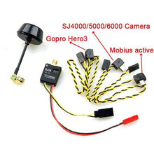TS600 5.8Ghz 32CH 600mW Wireless Audio VideoTransmitter 12V Output for Gopro hero3/hero4 Mobius active 808 SJ4000/SJ6000 camera(China)