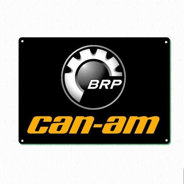 Can Am Brp Atv Renegade Utv Outlander Модные металлические жестяные знаки