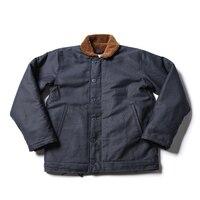 N1 Read Description ! Asian size Bronson navy jacket deck N1 mans short military thick warm wool jacket 3 colors