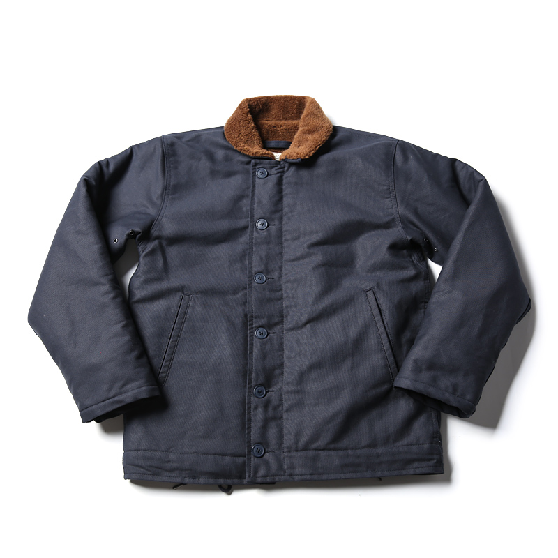 N1 Read Description ! Asian Size Bronson Navy Jacket Deck N1 Mans Short Military Thick Warm Wool Jacket 3 Colors
