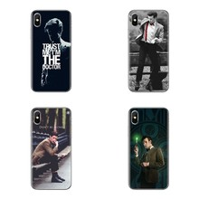 For Huawei Honor 7X V10 6C V9 6A Play 9 Mate 10 Pro Y7 Y5 P8 P10 Lite Plus GR5 2017 TPU Case Dr Who 11th Doctor Matt Smith Quote(China)