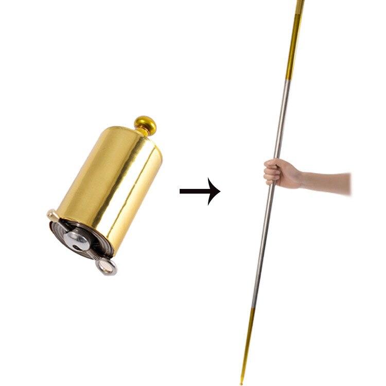 Martial Arts Staff Self Defense Stick Portable Metal Magic Pocket Telescopic @yi