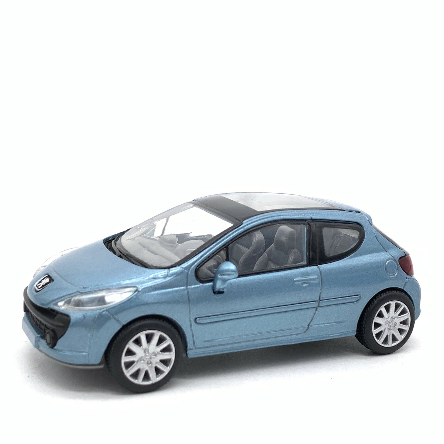 Free Shipping 1:43 Peugeot 207 Alloy Car Model Collection Model Car 7cm