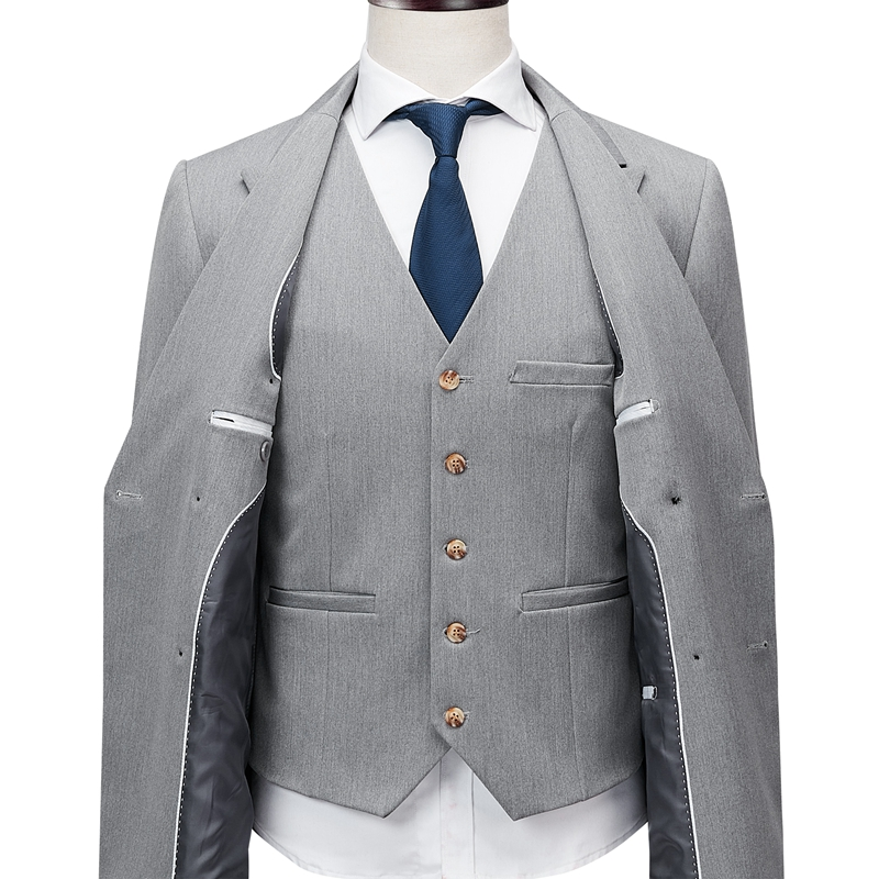 wedding : Shenrun Men Suits Slim Business Office Work Party Wedding Groom Tuxedo Stage Banquet Evening Dinner Double Breasted Six Buttons