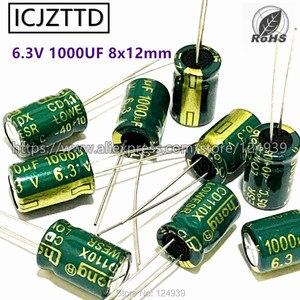 20pcs/bag new 6.3/10/16/25/35/50/63/400V 2.2/4.7/100/220/330/470/680/1000UF Aluminum Electrolytic Capacitor 8x16 6x12 8x12mm DIP(China)