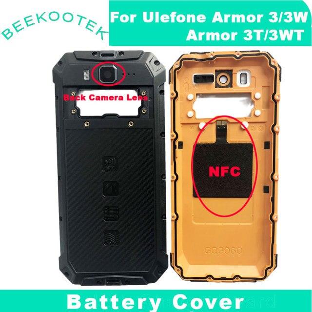 新オリジナル鎧3鎧3ワットバッテリードアカバーバックハウジングulefone鎧3t 3WTスマート電話