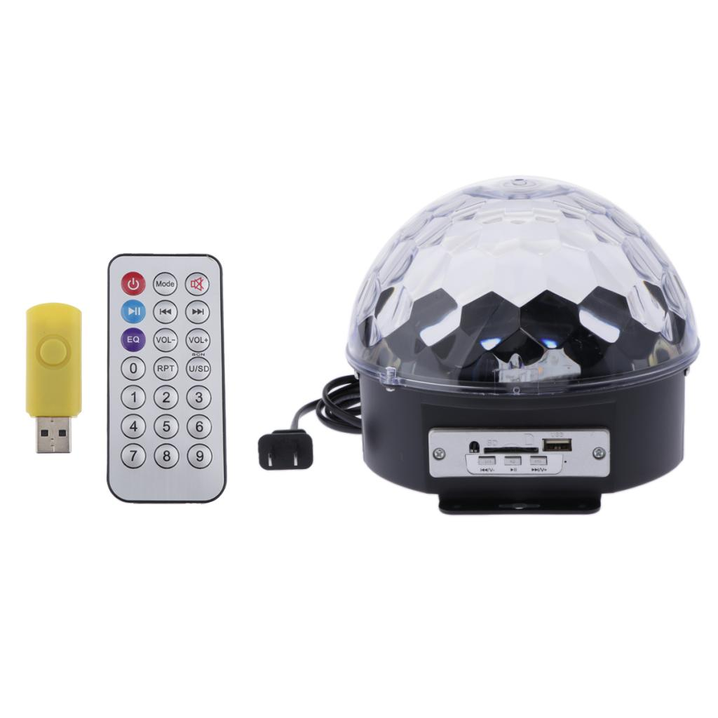 Crystal Magic Ball Stage Lamp Lamp Auto Control For KTV Bar Stage Club Party