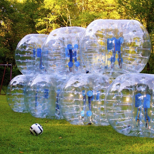 Dia 1.2m Inflatable Bubble Soccer Football Ball For Children Loopy Zorb Ball Human Hamster Ball Bumper Football For Kids