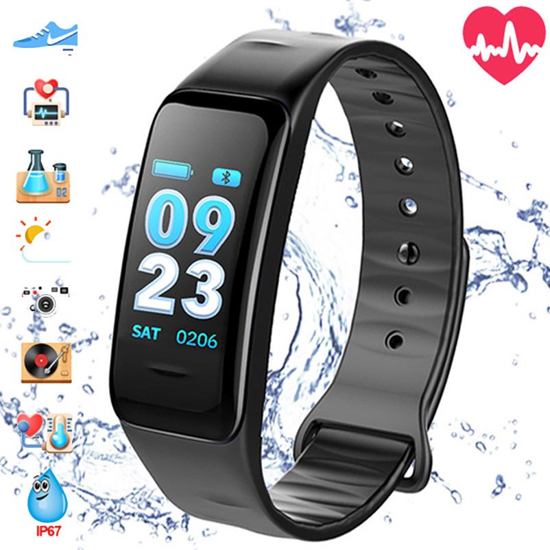 Smart Watch Waterproof Smartwatch Fitness Bracelet Smartband Women Men Watches Clock Activity Tracker