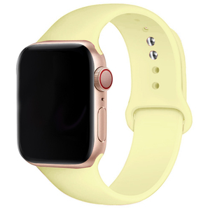 Soft Silicone Band for Apple Watch SE Series 6 5 4 3 2 1 38MM 42MM Rubber Watchband Strap for iWatch 4/5 40MM 44MM