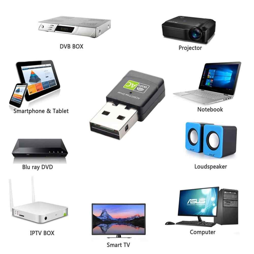600M mini USB tarjeta de red inalámbrica ordenador wifi señal receptor transmisor