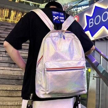 2019 NEW Haragufeng backpack women's small high school bag men's fashion trend Joker travel backpack