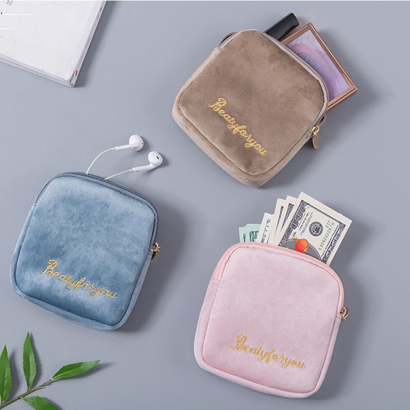 New Women Letter Travel Cosmetic Bag Makeup Bag Portable Female Zipper Small Toiletry Make Up Bags Purse Travel Beauty Organizer