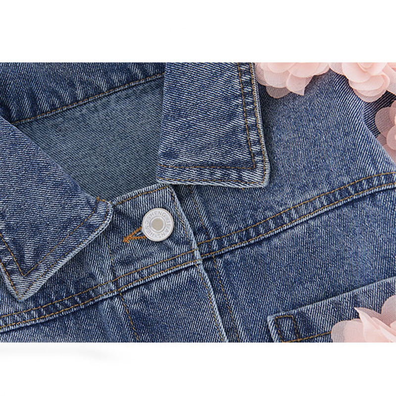 Babyinstar 2019 Baby Girl Jacket Cute Unicorn Outfit Detachable Hooded Denim Jacket Rainbow Clothes Jean Jackets For Kids
