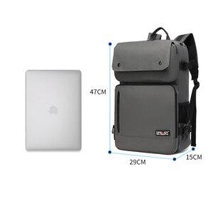 Image 5 - Iş sırt çantası erkek Su Geçirmez Oxford Crossbody Çanta 17 inç Bilgisayar Dizüstü Bilgisayar Çantası Açık Dayanıklı seyahat sırt çantaları XA277ZC