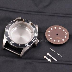 Image 2 - علبة ساعات 41 مللي متر كورجوت ساعة يد مرصعة بالنحاس 316L S استيل صالح ايتا 2836/2824 Miyota8215 821A حركة للرجال