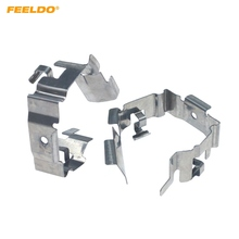 Headlight Sokets-Adaptor FEELDO Base-Holder High-Lamp Auto 2pcs H1 for -Hq6399 LED