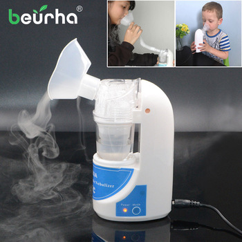 110V/220V Home Inhaler Handheld portable Inhale Nebulizer silent Ultrasonic inalador nebulizador Children Adult Healthy Care