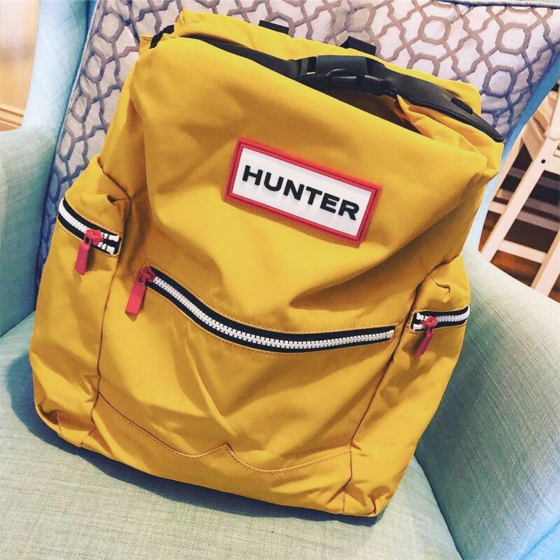 Unissex mochilas originais resistente à água náilon 14 mochila laptop mochila com clipe de pára-quedas portátil grande casuais