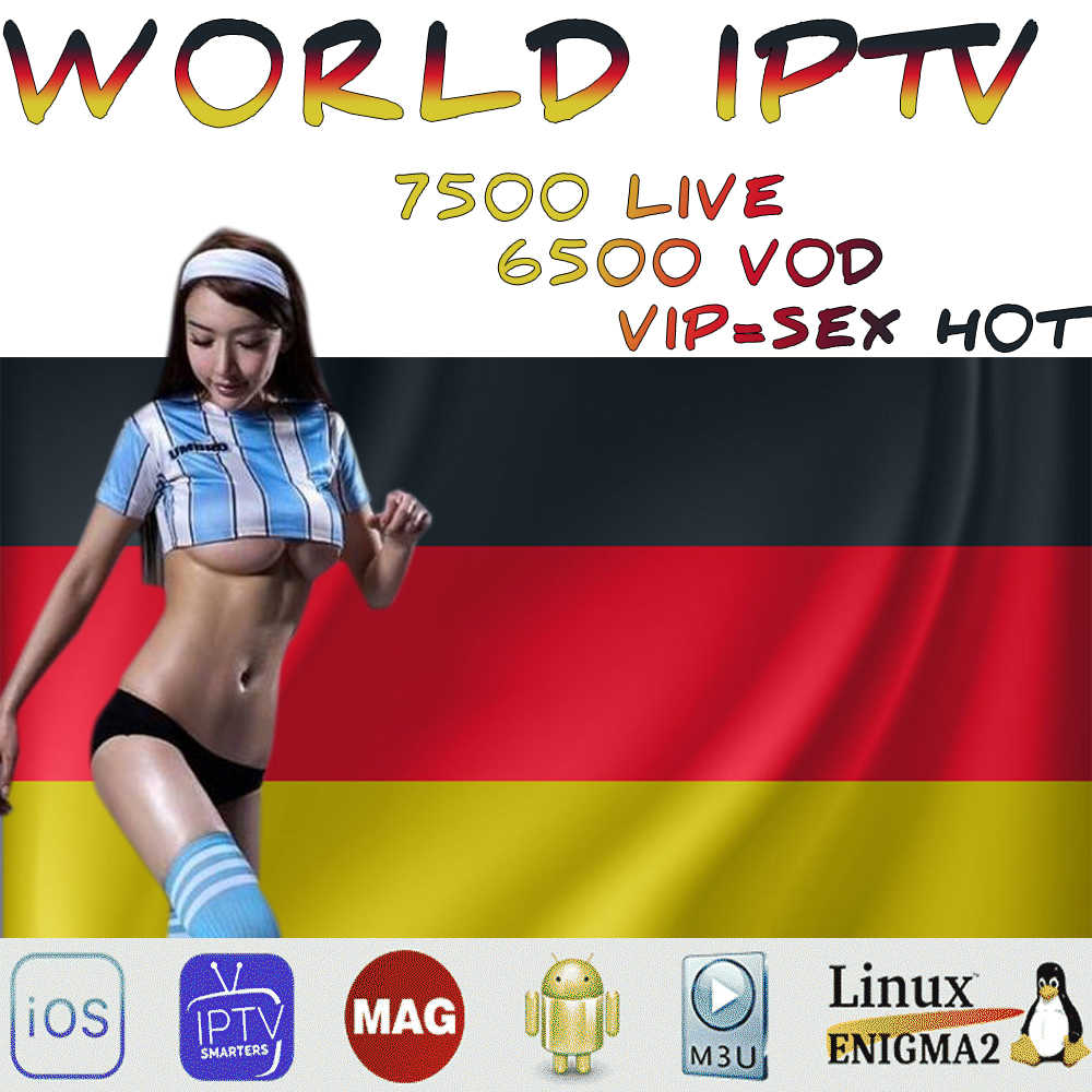 Mundo en IPTV 7500 + libre deportes adultos Xxx de la caja de Tv Ssmart Android Tv caja de Ssmart Tv Pc m3u Local Tv en directo Movistar
