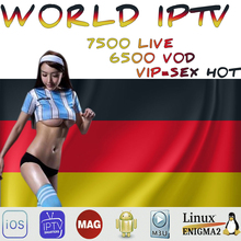 World Live IPTV 7500 + Live Free Sports Adult Xxx For Tv Box