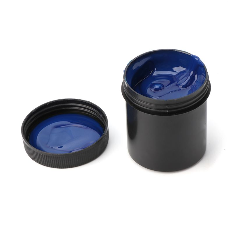 Photoresist Anti-etching Blue Ink Paint For DIY PCB Dry Film Replacement 100g
