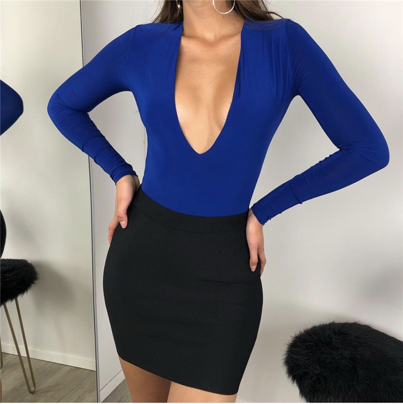 long sleeve sexy bodysuit 16