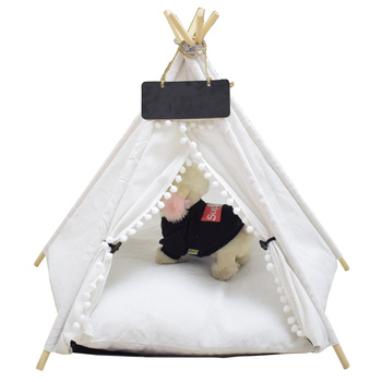 Four Seasons General Closed Dog House Summer Pet Tent Removable Mosquito Net Teddy Golden Cat
