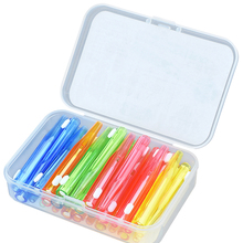 Floss Tooth-Brush Dental-Tool Oral-Care Orthodontic Cleaning Teeth Between 60pcs I-Shape