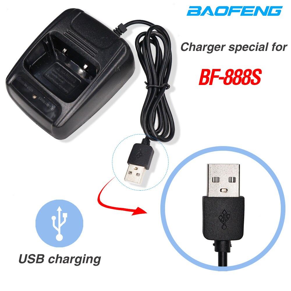 Original Baofeng 888S USB Charger Li-ion Battery Charger Input 5V 1A For BAOFENG BF-888S Bf888S Bf 888S BF-777S Two Way Radio
