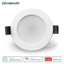 Zemismart 2.5 بوصة 7 واط واي فاي RGBCW Led النازل التحكم الصوتي أليكسا جوجل الرئيسية مساعد أتمتة المنزل