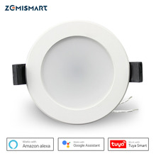 Zemismart 2.5 Inch 7W WiFi RGBCW Led Downlight  Voice Control Alexa Google Home Assistant Home Automation