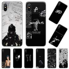 XXXTentacion USA rapper singer Black Soft Phone Case For iphone 4 4s 5 5s 5c se 6 6s 7 8 plus x xs xr 11 pro max coque shell(China)