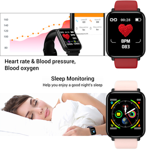 Image 3 - Smart Watch IP68 Waterproof Smartwatch Men Sports Heart Rate Monitor Women Fitness Tracker Watch VS Pulseira B57 For Android/IOS