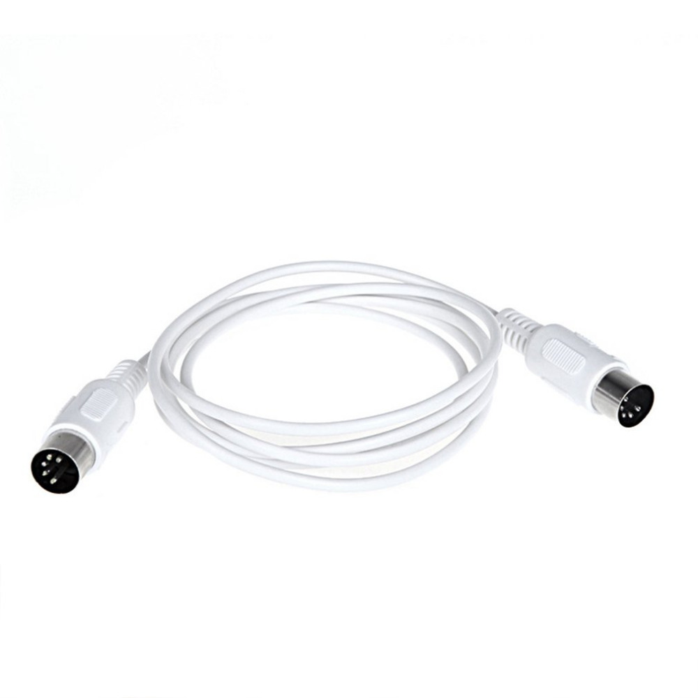 Music Editing Line Double Head Five Needle Connection Line MIDI Cable