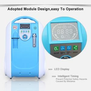Image 5 - 5L Medical Portable Oxygen Concentrator Generator Home Oxygen Generator 24 hours continuous oxygen flow respirators