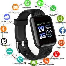 D13-reloj inteligente deportivo con control del ritmo cardíaco para hombre y mujer, resistente al agua, Android A2 B57, 2020