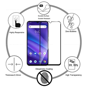 Image 3 - Tempered Glass For UMIDIGI A5 Pro Global Version Protective Front Film Screen Protector for UMIDIGI F1 A5 A 5 Pro 6.3inch Glass