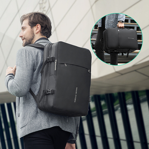 Image 5 - Mark Ryden Men Backpack Fit 17 inch Laptop USB Recharging Multi layer Space Travel Male Bag Anti thief Mochila