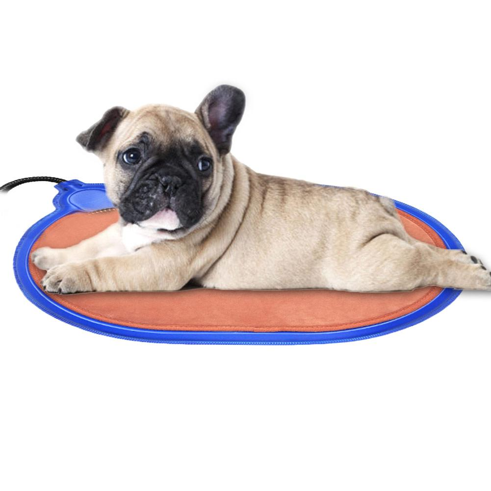 EU Plug Winter Warm Dog Electric Heating Mat Durable Heating Pad for Cat Dog Rabbit Special Heating Hard Mat Pet Supplies 20E