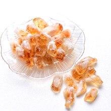 20/50g natural brasil citrino minério cristal reparação rocha mineral espécime coleção decoração para casa e diy presentes tanque de peixes pedra