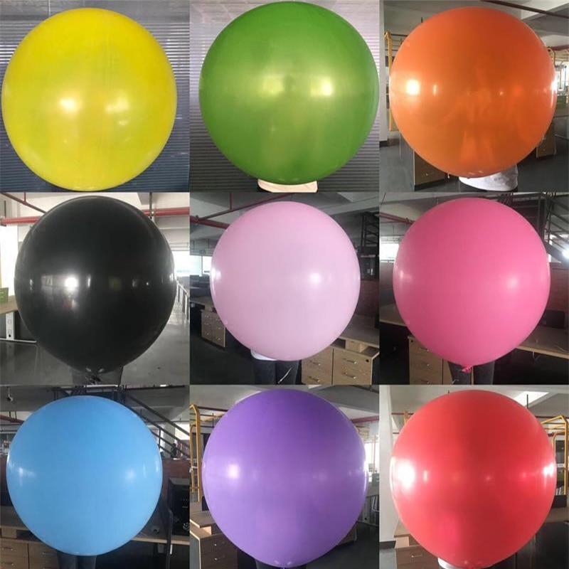 1 шт. 36 дюймов гигантский прозрачные латексные воздушные шары на день рождения Свадебная вечеринка украшения большие надувные шары крупног...