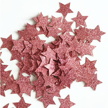 Scatter-Decor Paper Confetti Diy-Decoration Glitter Party-Table Star Rose-Gold Supplie