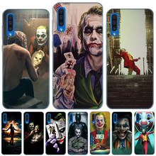 Mroczny rycerz Joker Karta miękkie silikonowe etui do Samsung Galaxy A6 Plus A8 Plus A7 A9 2018 A10 A20 A30 A40 A50 A60 A70 A80 A90