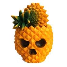 Creative Fashion Resin Pineapple Skull Desktop Storage Box Organizer Table Decor Ornaments makeup organizer^30